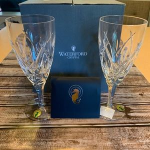 Other - Set of 2 Waterford Crystal Stemware with Box